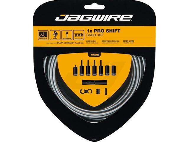 Jagwire 1X Pro Shift set de cable de cambio, gris